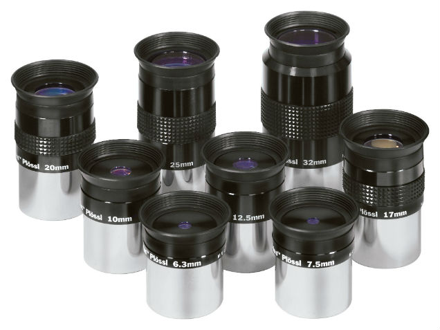 Orion Sirius Plossl 1.25-inch Telescope Eyepieces