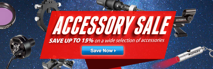 Accessory Sale: Save up to 15% on a Wide Variety of Accessories