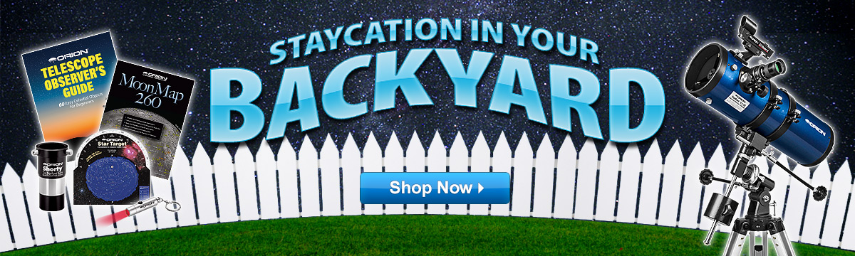 Staycation in your backyard