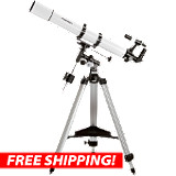 Orion AstroView 90mm EQ Refractor Telescope