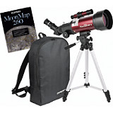 Orion GoScope II 70mm Refractor Travel Telescope Moon Kit