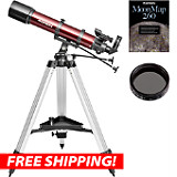 Orion StarBlast 90mm AZ Refractor Moon Kit