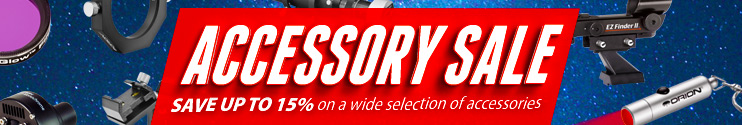 Accessory Sale - Save up to 15% on a Wide Variety of Accessories
