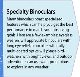 Specialty Binoculars